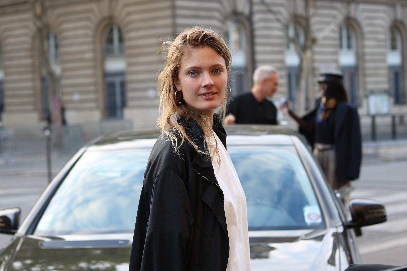 buy sale 100% top quality best quality Constance Jablonski before Balmain S/S 19 – THE MODEL SPOTTER